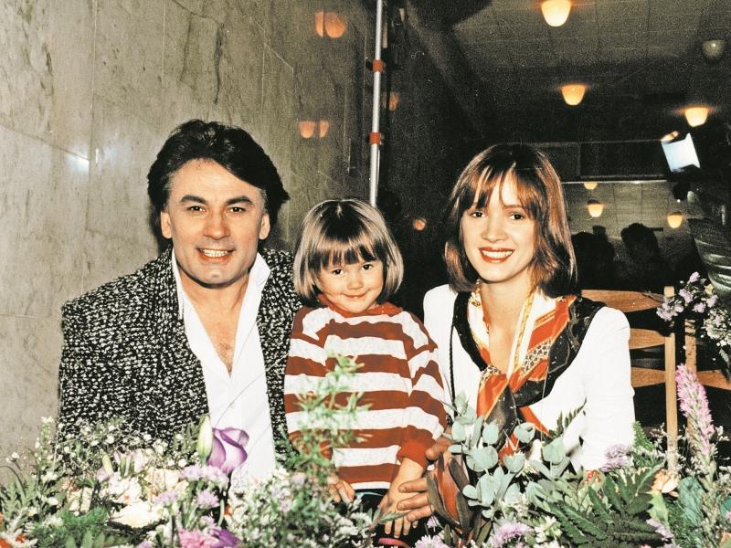 Елена Стебенева и Александр Серов